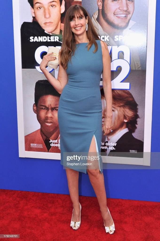 Model <a gi-track='captionPersonalityLinkClicked' href=/galleries/search?phrase=Carol+Alt&family=editorial&specificpeople=202034 ng-click='$event.stopPropagation()'>Carol Alt</a> attends the 'Grown Ups 2' New York Premiere at AMC Lincoln Square Theater on July 10, 2013 in New York City.