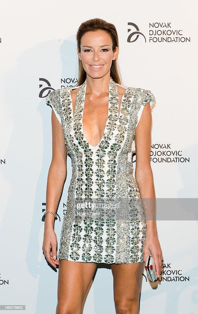 Model Carolina Parsons attends the The 2013 Novak Djokovic Foundation Dinner at Capitale on September 10, 2013 in New York City.