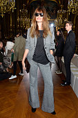 Model Caroline de Maigret attends the Stella McCartney show as part of the Paris Fashion Week Womenswear Spring/Summer 2016 on October 5 2015 in...