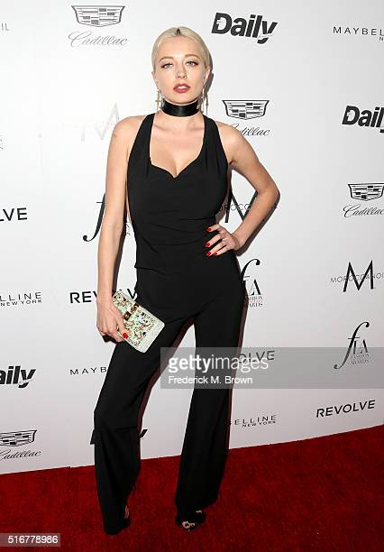 Model Caroline Vreeland attends the Daily Front Row 'Fashion Los Angeles Awards' at Sunset Tower Hotel on March 20 2016 in West Hollywood California