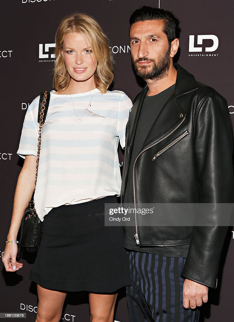 Model Caroline Winberg attends the 'Disconnect' New York Special Screening at SVA Theater on April 8 2013 in New York City