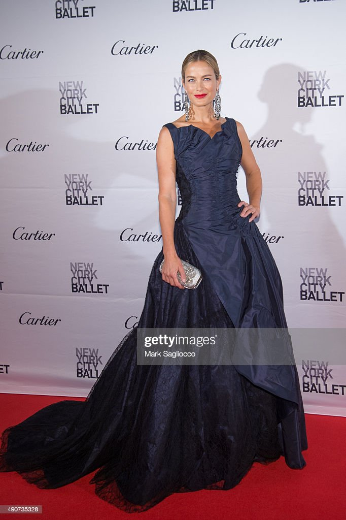 Model Carolyn Murphy attends the 2015 New York City Ballet Fall Gala at the David H. Koch Theater at Lincoln Center on September 30, 2015 in New York City.