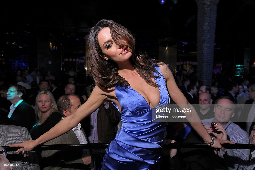 Model Catrinel Menghia attends Club SI Swimsuit hosted by Vanity at Vanity Nightclub at The Hard Rock Hotel and Casino on February 17, 2011 in Las Vegas, Nevada.