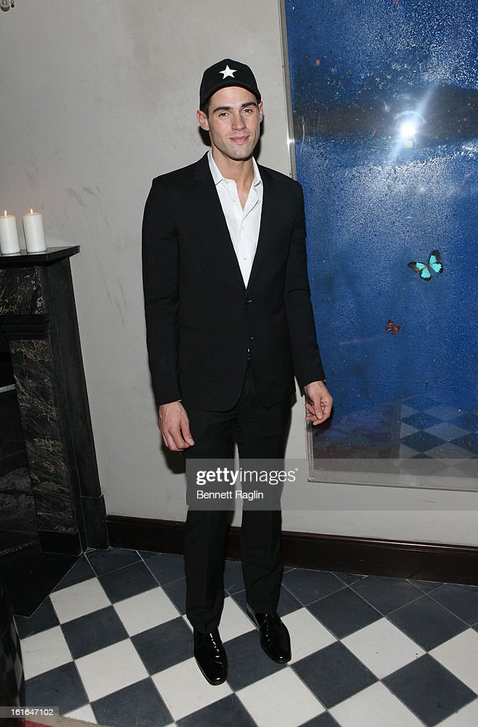 Model Chad White attends the Gents launch event at Gramercy Terrace at The Gramercy Park Hotel on February 13, 2013 in New York City.