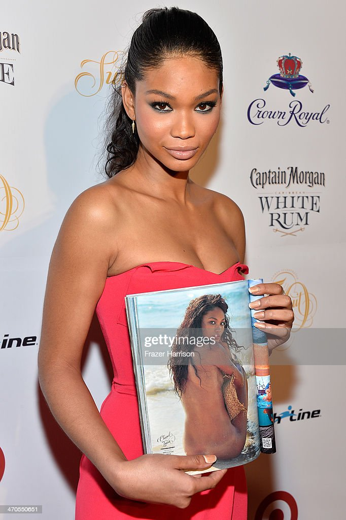 Model Chanel Iman attends Club SI Swimsuit at LIV Nightclub hosted by Sports Illustrated at Fontainebleau Miami on February 19, 2014 in Miami Beach, Florida.