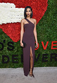 Model Chanel Iman attends God's Love We Deliver Golden Heart Awards on October 16 2014 in New York City