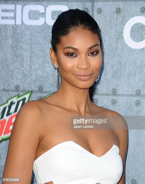 Model Chanel Iman attends Spike TV's 'Guys Choice 2015' at Sony Pictures Studios on June 6 2015 in Culver City California