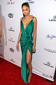 Model Chanel Iman attends the 2015 Sports Illustrated Swimsuit Issue celebration at Marquee on February 10 2015 in New York City