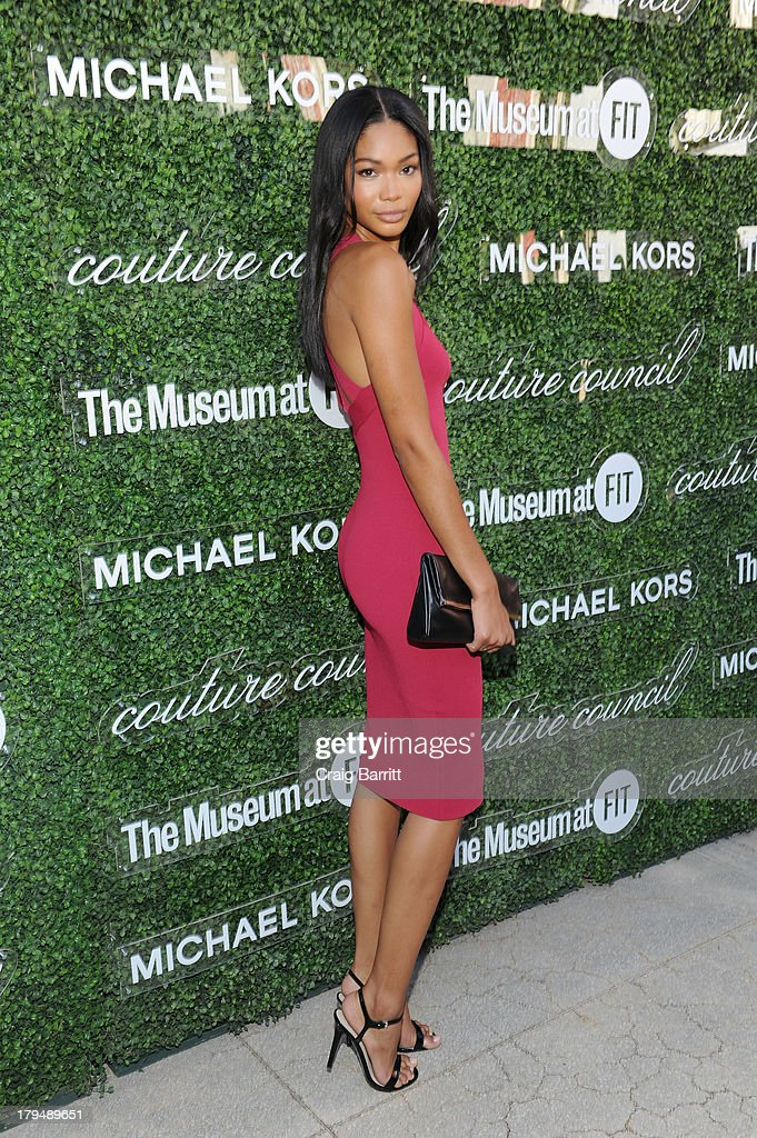 Model Chanel Iman attends The Couture Council of The Museum at the Fashion Institute of Technology hosted luncheon honoring Michael Kors with the 2013 Couture Council Award on September 4, 2013 in New York City.