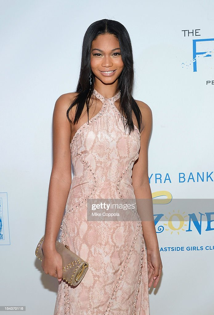 Model Chanel Iman attends The Flawsome Ball For The Tyra Banks TZONE at Capitale on October 18, 2012 in New York City.