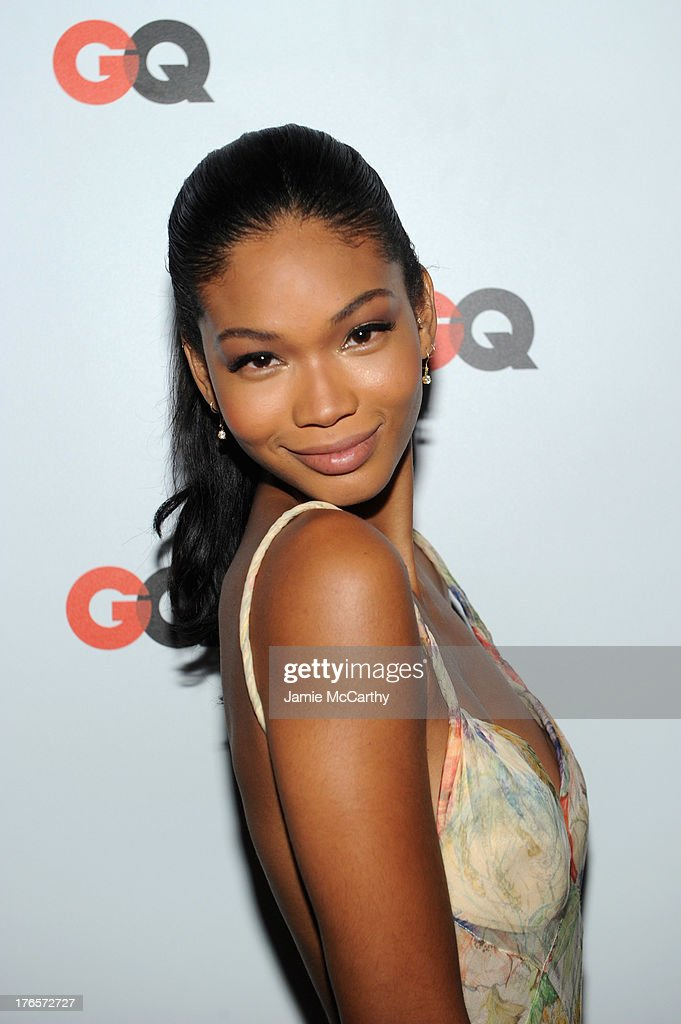 Model <a gi-track='captionPersonalityLinkClicked' href=/galleries/search?phrase=Chanel+Iman&family=editorial&specificpeople=2905732 ng-click='$event.stopPropagation()'>Chanel Iman</a> attends the GQ 'What To Wear Now' Special Issue Party at The Highline Hotel on August 15, 2013 in New York City.