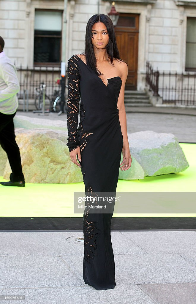 Model <a gi-track='captionPersonalityLinkClicked' href=/galleries/search?phrase=Chanel+Iman&family=editorial&specificpeople=2905732 ng-click='$event.stopPropagation()'>Chanel Iman</a> attends the preview party for The Royal Academy Of Arts Summer Exhibition 2013 at Royal Academy of Arts on June 5, 2013 in London, England.