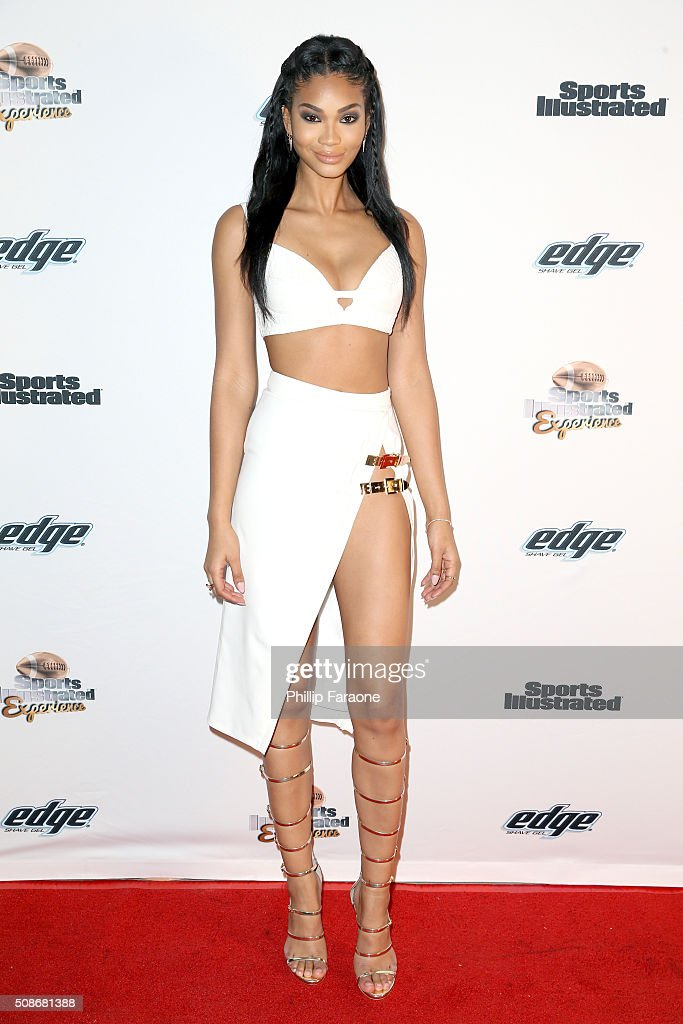 Model Chanel Iman attends the Sports Illustrated Experience Friday Night Party on February 5, 2016 in San Francisco, California.