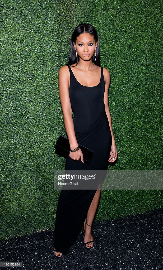 Model <a gi-track='captionPersonalityLinkClicked' href=/galleries/search?phrase=Chanel+Iman&family=editorial&specificpeople=2905732 ng-click='$event.stopPropagation()'>Chanel Iman</a> attends the 'To Catch A Thief' RALPH LAUREN screening celebrating the PRINCESS GRACE FOUNDATION at The Museum of Modern Art on October 28, 2013 in New York City.