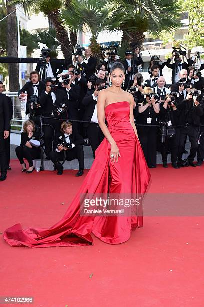 Model Chanel Iman attends the 'Youth' Premiere during the 68th annual Cannes Film Festival on May 20 2015 in Cannes France