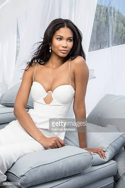 Model Chanel Iman is photographed for The Hollywood Reporter on May 15 2015 in Cannes France **NO SALES IN USA TILL AUGUST 28 2015**