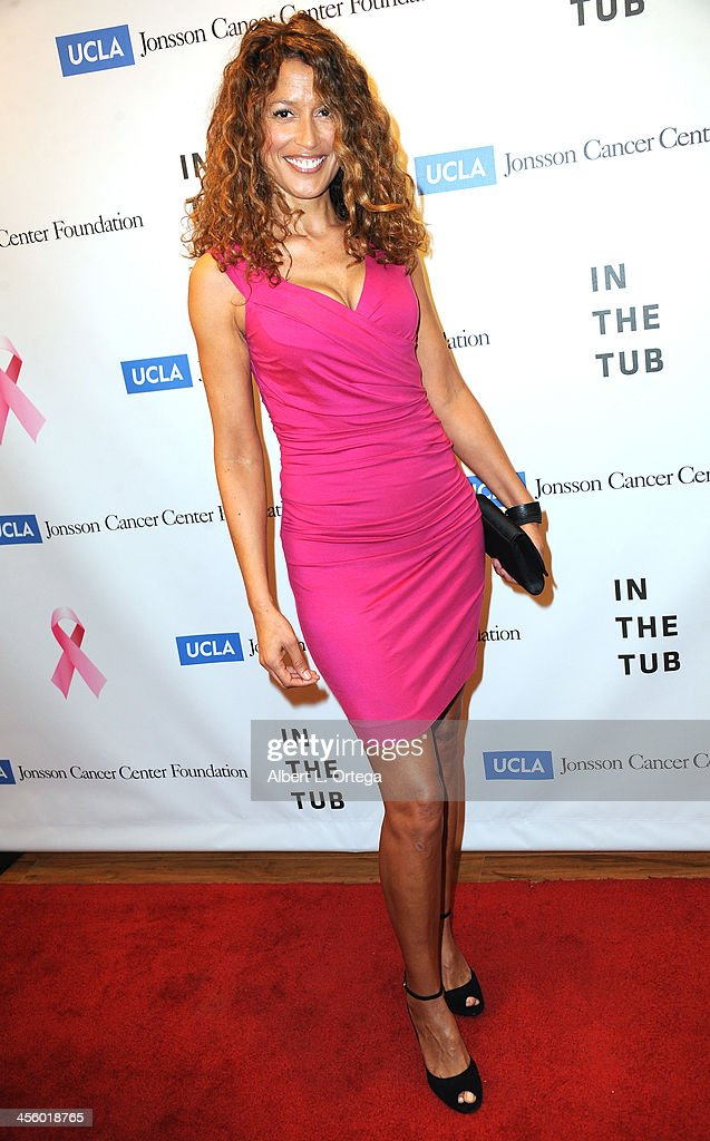 Model Chanita Russo attends TJ Scott's 'In The Tub' Book Party Launch to benefit UCLA's Jonsson Cancer Center for Breast Research hosted by Katrina Law of 'Spartacus' held at Light In Art on December 12, 2013 in Los Angeles, California.