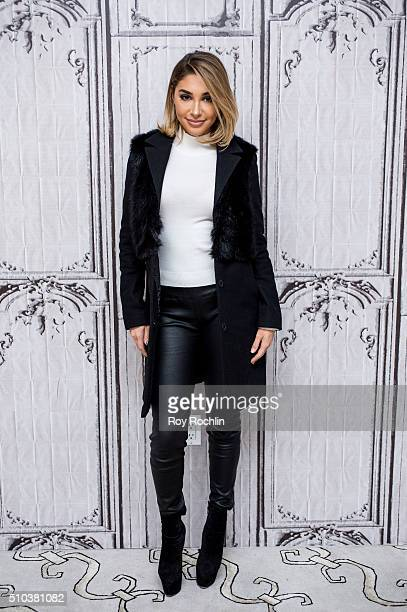 Model Chantel Jeffries discusses her career and upcoming projects at AOL Studios In New York on February 15 2016 in New York City