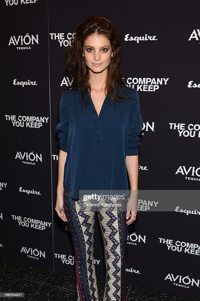 Model Charlbi Dean attends 'The Company You Keep' New York Premiere at MOMA on April 1, 2013 in New York City.