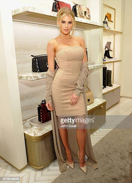 Model Charlotte McKinney attends Jimmy Choo in association with Cindy Crawford and Katharina Harf to host an evening to support Delete Blood Cancer...