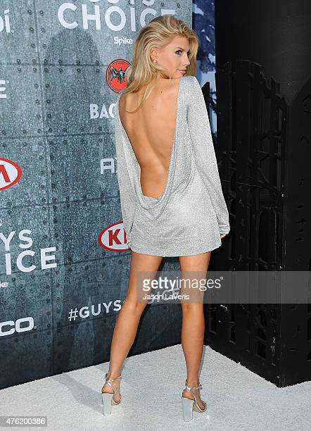 Model Charlotte McKinney attends Spike TV's 'Guys Choice 2015' at Sony Pictures Studios on June 6 2015 in Culver City California