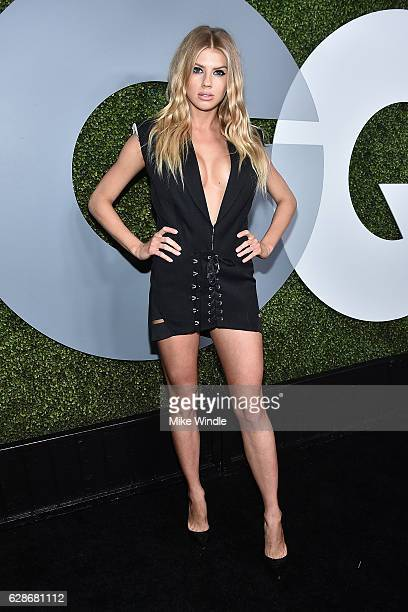 Model Charlotte McKinney attends the 2016 GQ Men of the Year Party at Chateau Marmont on December 8 2016 in Los Angeles California