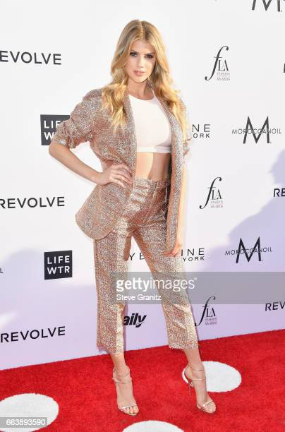Model Charlotte McKinney attends the Daily Front Row's 3rd Annual Fashion Los Angeles Awards at Sunset Tower Hotel on April 2 2017 in West Hollywood...