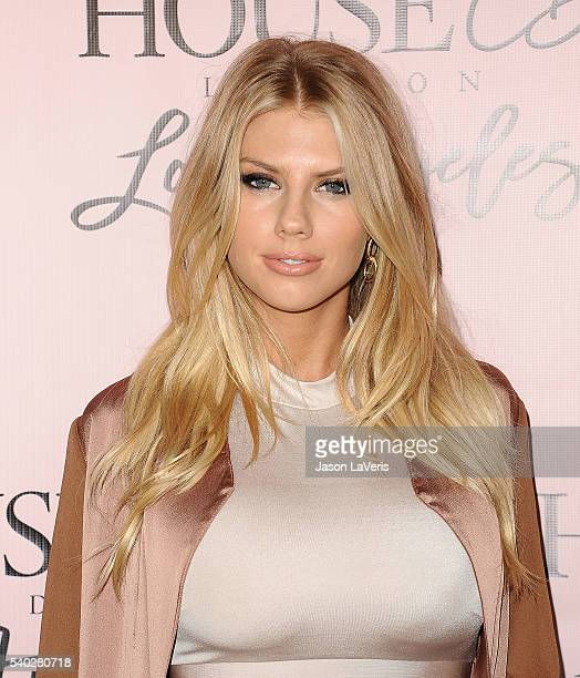 Model Charlotte McKinney attends the House of CB flagship store launch at House Of CB on June 14 2016 in West Hollywood California