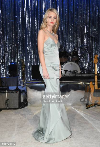 Model Charlotte Moss attends Bulgari at the 25th Annual Elton John AIDS Foundation's Academy Awards Viewing Party at on February 26 2017 in Los...