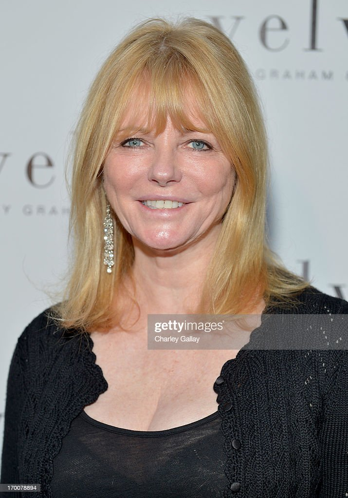 Model <a gi-track='captionPersonalityLinkClicked' href=/galleries/search?phrase=Cheryl+Tiegs&family=editorial&specificpeople=211403 ng-click='$event.stopPropagation()'>Cheryl Tiegs</a> attends the opening of the Velvet by Graham & Spencer store on June 6, 2013 in Brentwood, California.