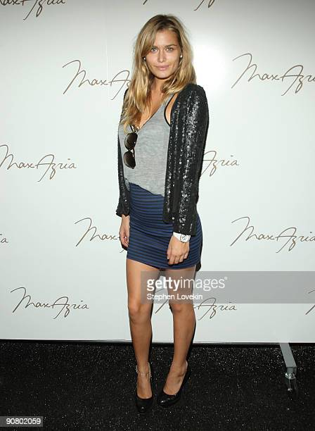 Model Cheyenne Tozzi attends the Max Azria Spring 2010 Fashion Show during MercedesBenz Fashion Week at Bryant Park on September 15 2009 in New York...