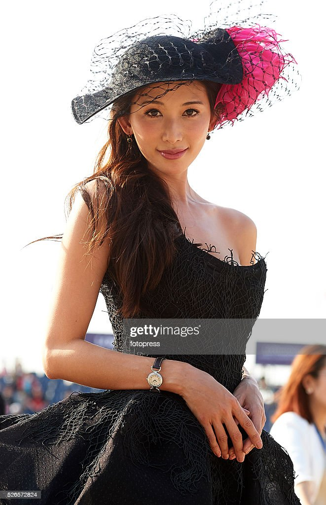 Model Chi Ling Lin attends the Global Champions Tour of Shanghai at China Art Palace on April 30, 2016 in Shanghai, China.