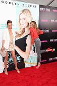 Model Chrissie Teigen and ESPN analyst Erin Andrews attend the 'What To Expect When You're Expecting' premiere at AMC Loews Lincoln Square on May 8...