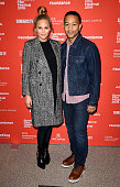 Model Chrissy Teigen and musician John Legend attend 'Southside With You' Premiere during the 2016 Sundance Film Festival at Eccles Center Theatre on...