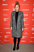 Model Chrissy Teigen attends 'Southside With You' Premiere during the 2016 Sundance Film Festival at Eccles Center Theatre on January 24 2016 in Park...