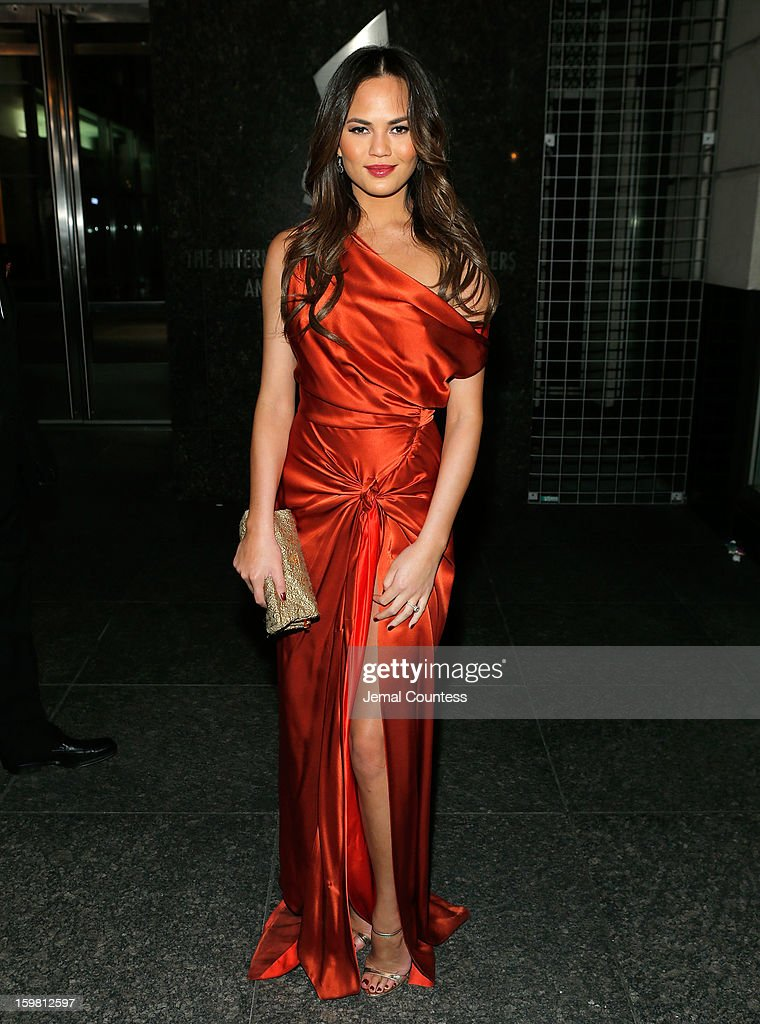Model Chrissy Teigen attends The Hip-Hop Inaugural Ball II at Harman Center for the Arts on January 20, 2013 in Washington, DC.