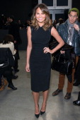 Model Chrissy Teigen attends the Vera Wang Collection Show during MercedesBenz Fashion Week Fall 2014 at Dia Center on February 11 2014 in New York...