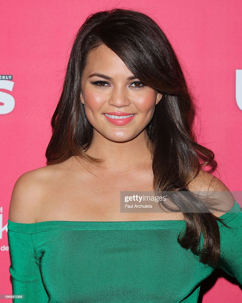 Model Chrissy Teigen attends Us Weekly's annual Hot Hollywood Style issue party at The Emerson Theatre on April 18, 2013 in Hollywood, California.