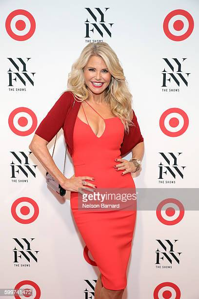 Model Christie Brinkley attends Target IMG New York Fashion Week KickOff Event at The Park at Moynihan Station on Tuesday September 6 2016 in New...