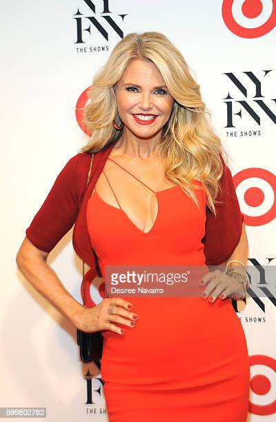 Model Christie Brinkley attends Target IMG New York Fashion Week Kickoff event at The Park at Moynihan Station on September 6 2016 in New York City