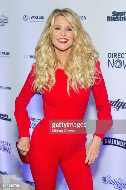 Model Christie Brinkley attends the Sports Illustrated Swimsuit 2017 launch event at Center415 Event Space on February 16 2017 in New York City