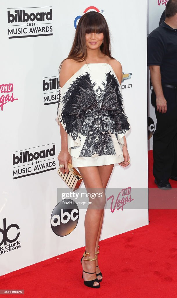 Model <a gi-track='captionPersonalityLinkClicked' href=/galleries/search?phrase=Christine+Teigen&family=editorial&specificpeople=4583768 ng-click='$event.stopPropagation()'>Christine Teigen</a> attends the 2014 Billboard Music Awards at the MGM Grand Garden Arena on May 18, 2014 in Las Vegas, Nevada.