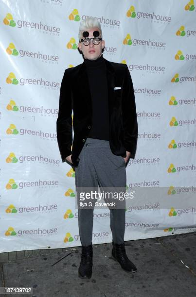 Model Christopher Hernandez attends 'Americas Next Top Model Boys vs Girls' Cycle 20 Season Finale Party at Greenhouse on November 8 2013 in New York...