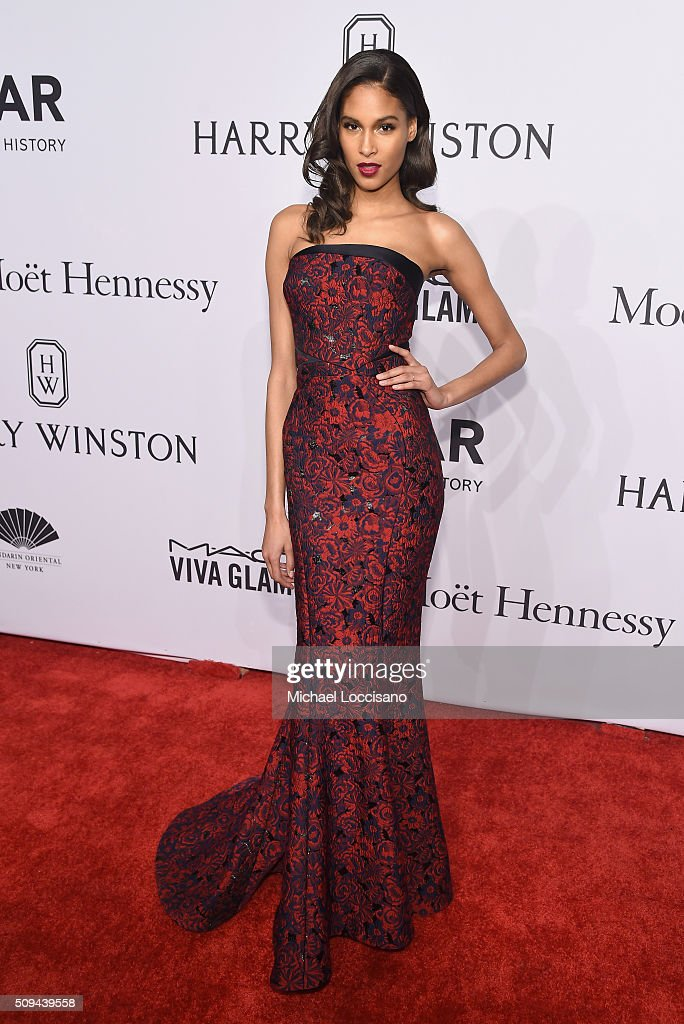 Model <a gi-track='captionPersonalityLinkClicked' href=/galleries/search?phrase=Cindy+Bruna&family=editorial&specificpeople=11366881 ng-click='$event.stopPropagation()'>Cindy Bruna</a> attends 2016 amfAR New York Gala at Cipriani Wall Street on February 10, 2016 in New York City.