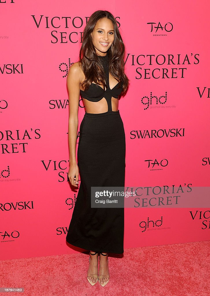 Model Cindy Bruna attends the 2013 Victoria's Secret Fashion after party at TAO Downtown on November 13, 2013 in New York City.