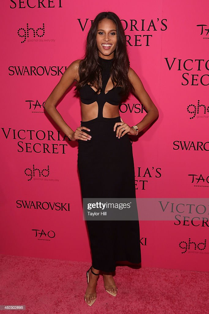 Model Cindy Bruna attends the after party for the 2013 Victoria's Secret Fashion Show at Lavo NYC on November 13, 2013 in New York City.