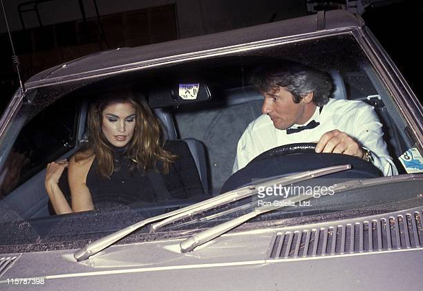 Model Cindy Crawford and actor Richard Gere attend the Fifth Annual California Industry Friends of AIDS Project Los Angeles Fashion Show and Dinner...