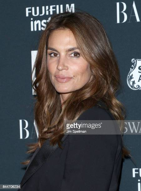 Model Cindy Crawford attend the 2017 Harper's Bazaar Icons at The Plaza Hotel on September 8 2017 in New York City