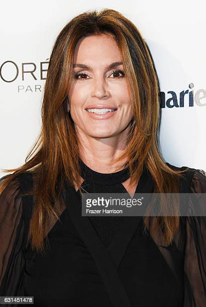 Model Cindy Crawford attends Marie Claire's Image Maker Awards 2017 at Catch LA on January 10 2017 in West Hollywood California