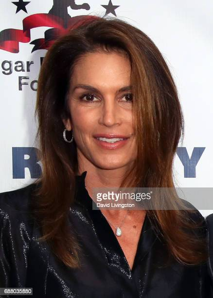 Model Cindy Crawford attends the 8th Annual 'Big Fighters Big Cause' Charity Boxing Night at the Loews Santa Monica Beach Hotel on May 24 2017 in...